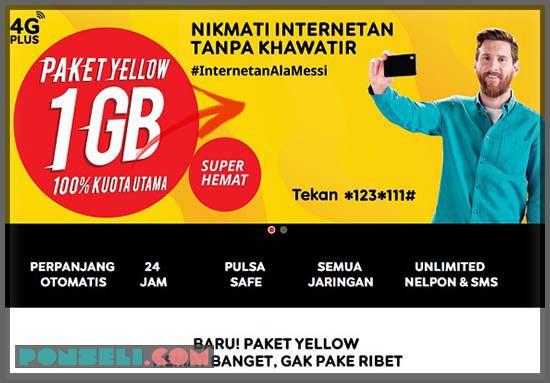 Paket Internet Yellow Indosat