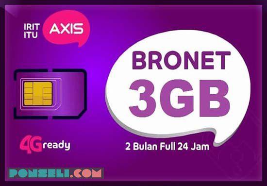 Paket Internet Bronet