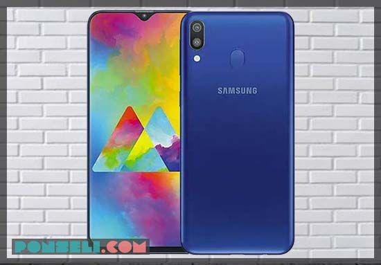 Desain Samsung Galaxy M20