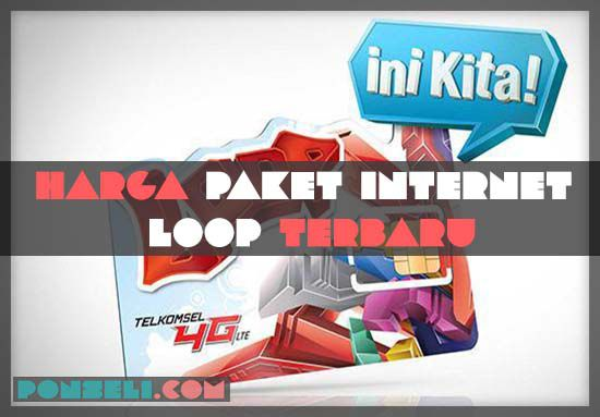 Harga Paket Internet LOOP