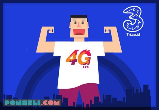 Paket Internet 3 4G