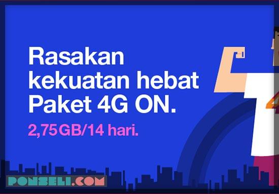 Paket Tri 4G LTE 14 Hari