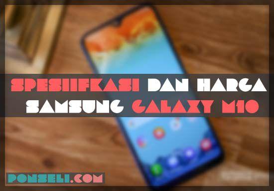 Spesifikasi Samsung Galaxy M10