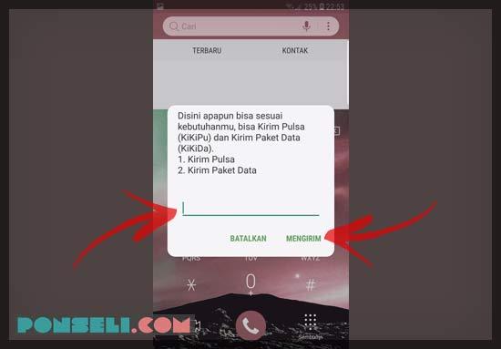 4 Cara Transfer Pulsa 3 2020 Ke Sesama Dan Operator Lain Ponseli Com