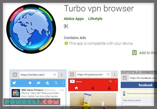 Turbo VPN Browser