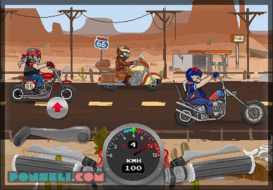 Game Balap Motor Drag Android