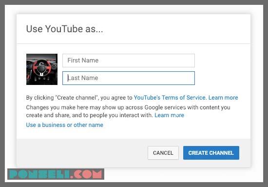 Mulai Membuat Channel