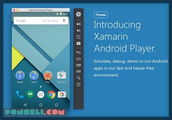 Emulator Android Xamarin