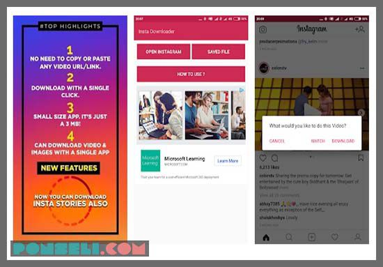 Aplikasi Download Video Instagram DTerbaik