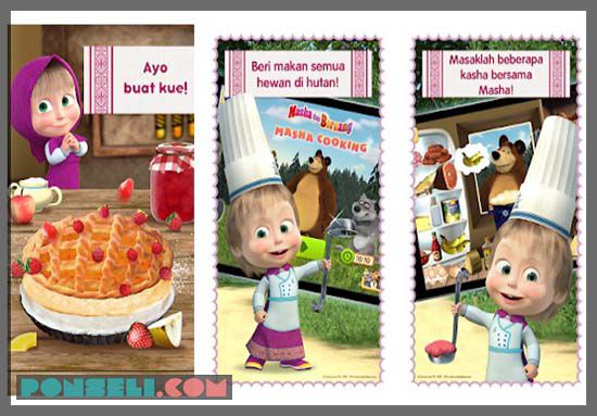 Masha And Bear : Cooking Dash