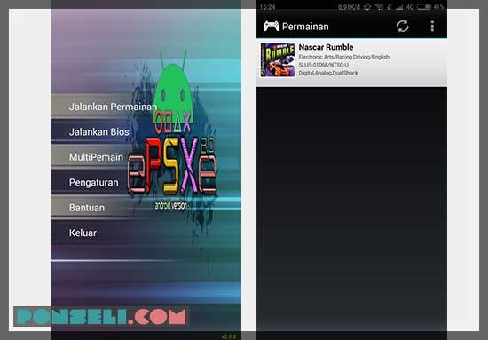 Cara Main Game PS1 di Android