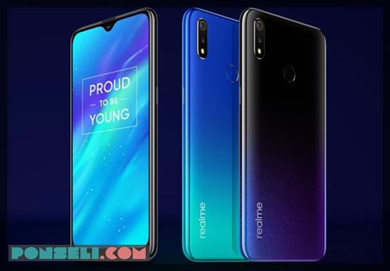 Harga Realme 3 2019 Spesifikasi Review Fitur Gambar Ponseli Com