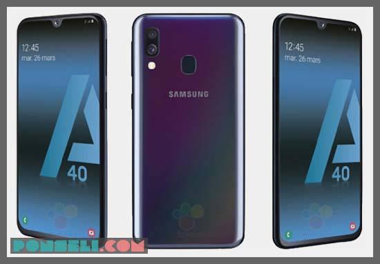 Spesifikasi dan Harga Samsung Galaxy A40