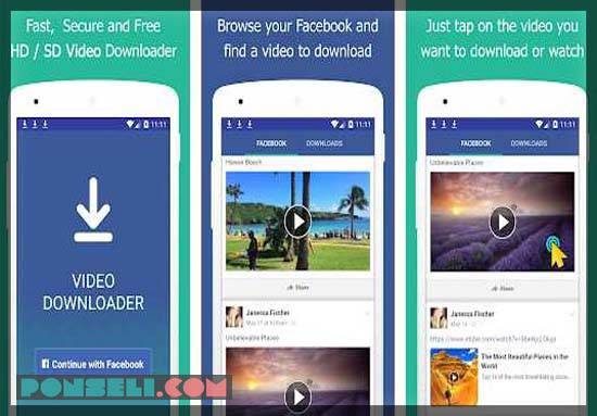 Video Download For Facebook Lite Repost Video