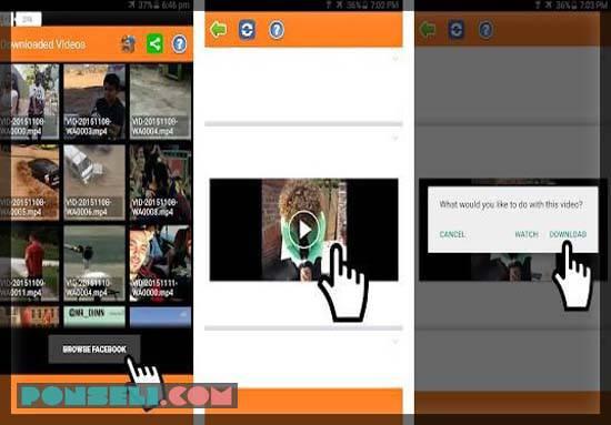 Video Downloader For Facebook (Literna Apps)