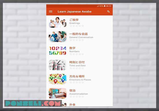 download belajar bahasa jepang apk pro (premium - unlock all)