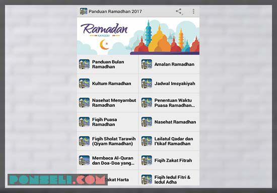 Panduan Ramadhan