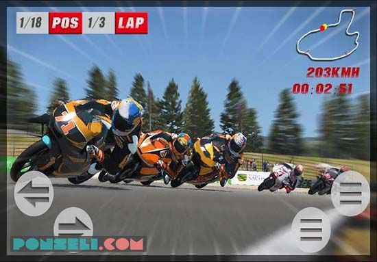 Game Balapan Motor Grafik Hight