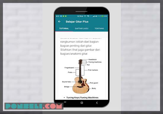 download tutorial belajar gitar