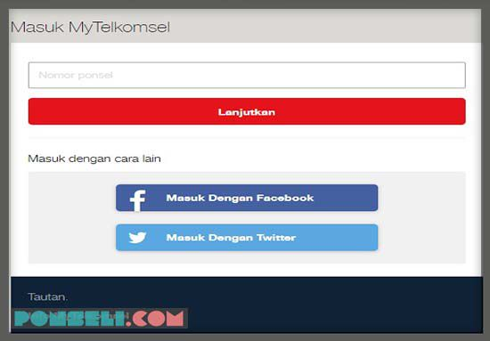 Website Telkomsel