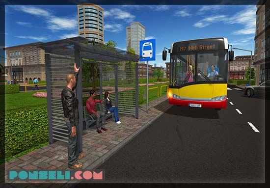 permainan bus mencari penumpang