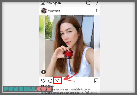 Cara Repost Instagram Story