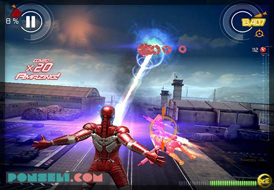 Game Android Avengers Iron Man 3