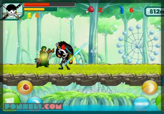 Game Android One Piece Zoro Pirate Shooting Free