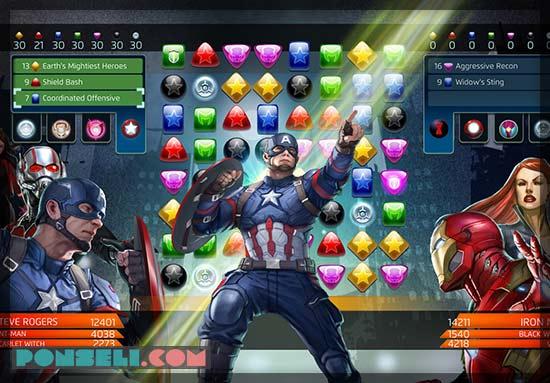 Game Marvel Puzzle Quest