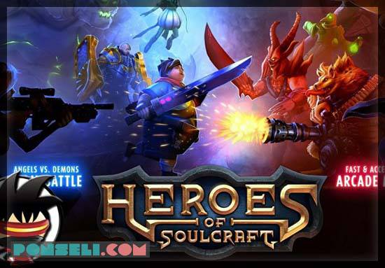 Heroes of Soulcraft-MOBA