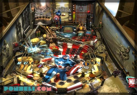 Marvel Pinbal