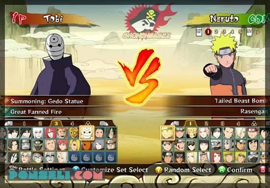 Naruto Strom Ninja Heroes