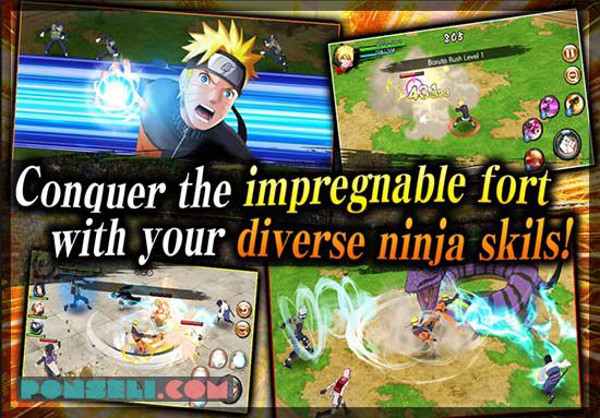 NARUTO VS BARUTO Ninja Voltage