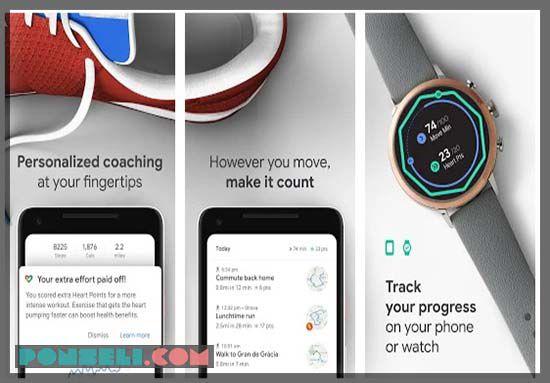 Google Fit : Pemantau Kesehatan