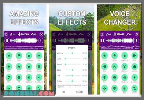 Voice Changer & Effect
