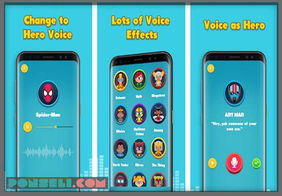 Super Voice Changer Hero
