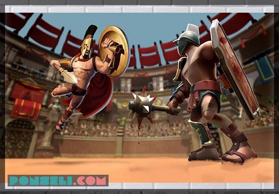 Gladiator Heroes Clash : Fighting