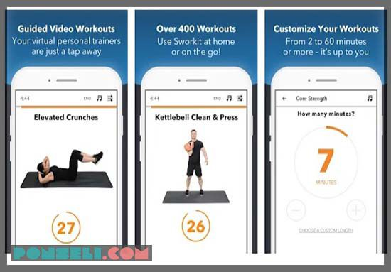Sworkit Fitness : Workout & Plan