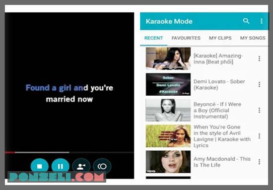 Karaoke Mode