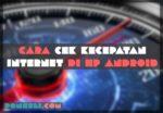 Cara Cek Kecepatan Internet Android