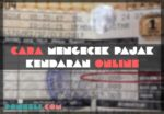 Cara Cek Pajak Motor Online