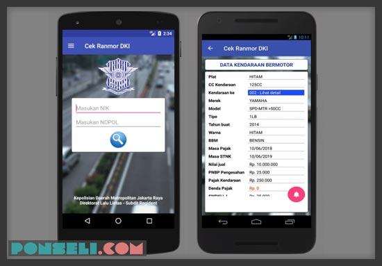 Cara Cek Pajak Motor Online Jakarta