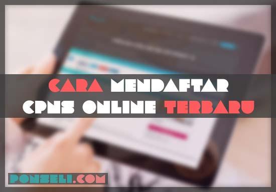 Cara Mendaftar CPNS Online