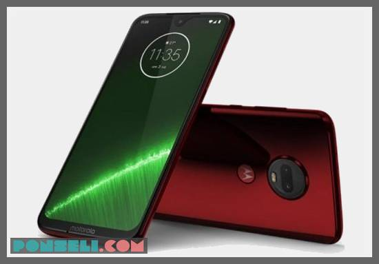 Desain Motorola Moto G7 Plus