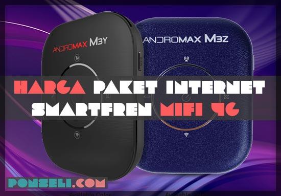 Harga Paket Smartfren Mifi 4G