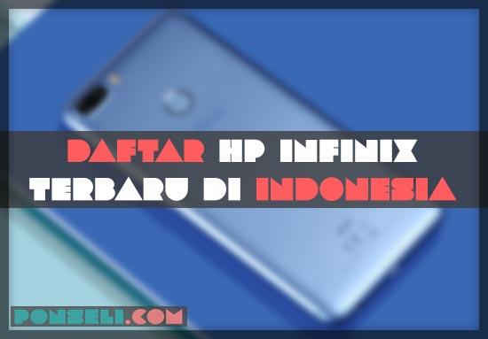Hp Infinix Terbaru 2019