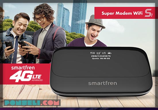 Paket Internet Smartfren Mifi 4G