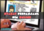Syarat Perpanjang SIM Online