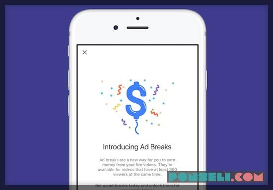 Waktu Pembayaran Facebook Ad Breaks