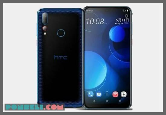 Desain HTC Desire 19 Plus